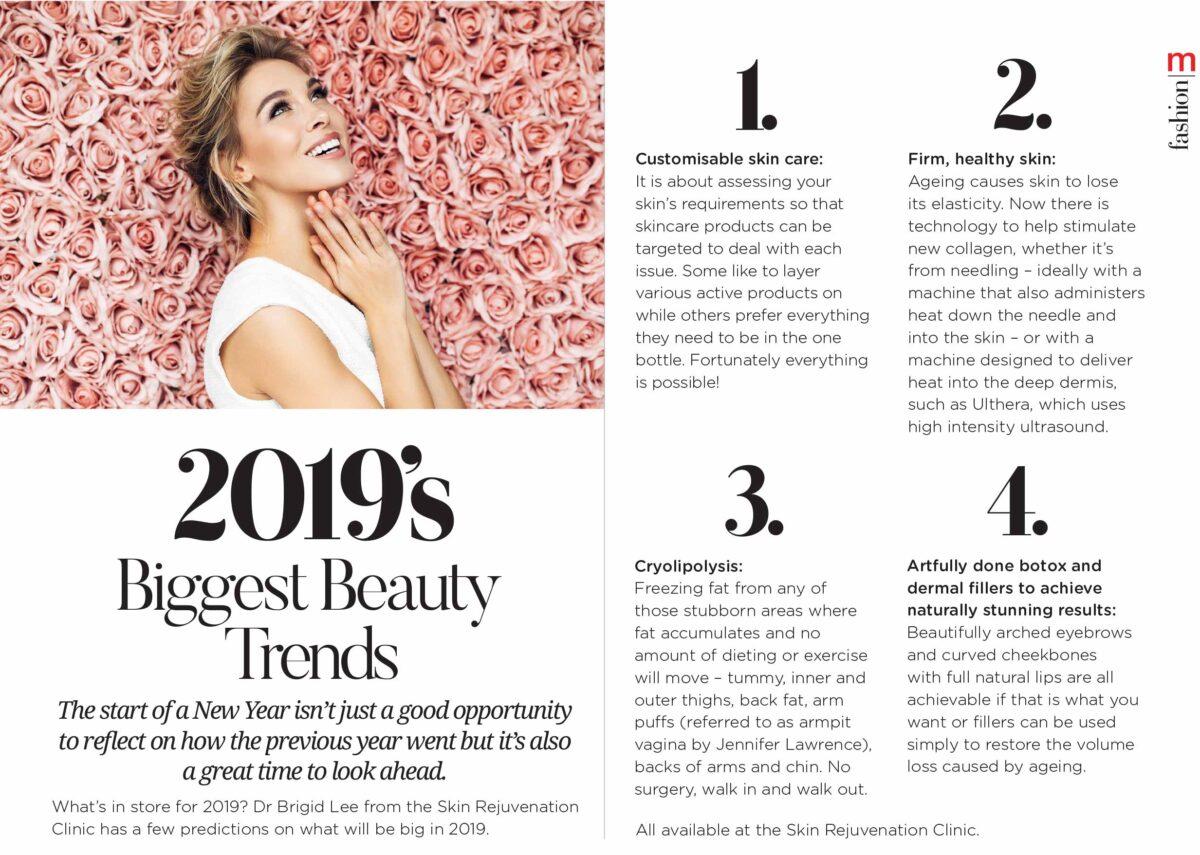 Metropol: 2019's Biggest Beauty Trends