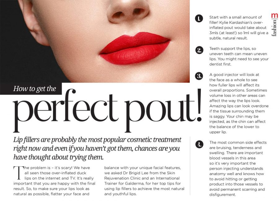Metropol: How to get the perfect pout!