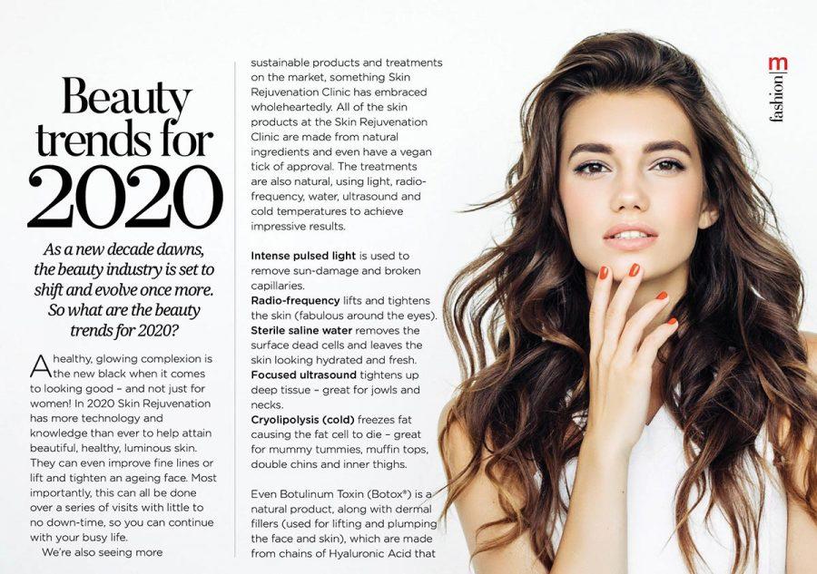 Metropol: Beauty trends for 2020
