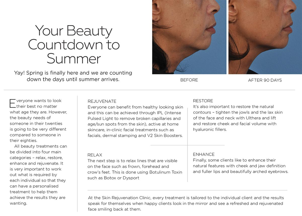 Metropol: Your beauty countdown to summer