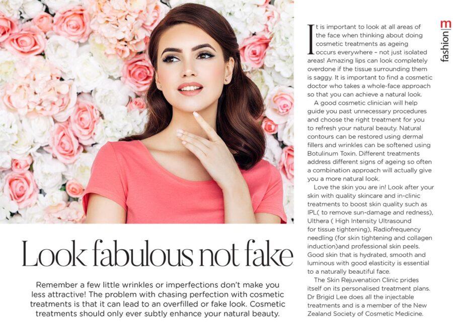 Metropol: Look fabulous not fake